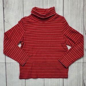 3/$25 Gymboree Turtleneck Striped Red